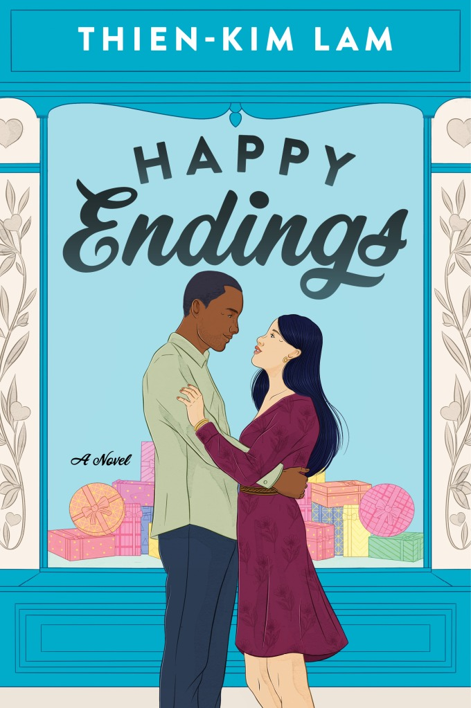 Happy Endings by Thien-Kim Lam book cover - anticipated book release