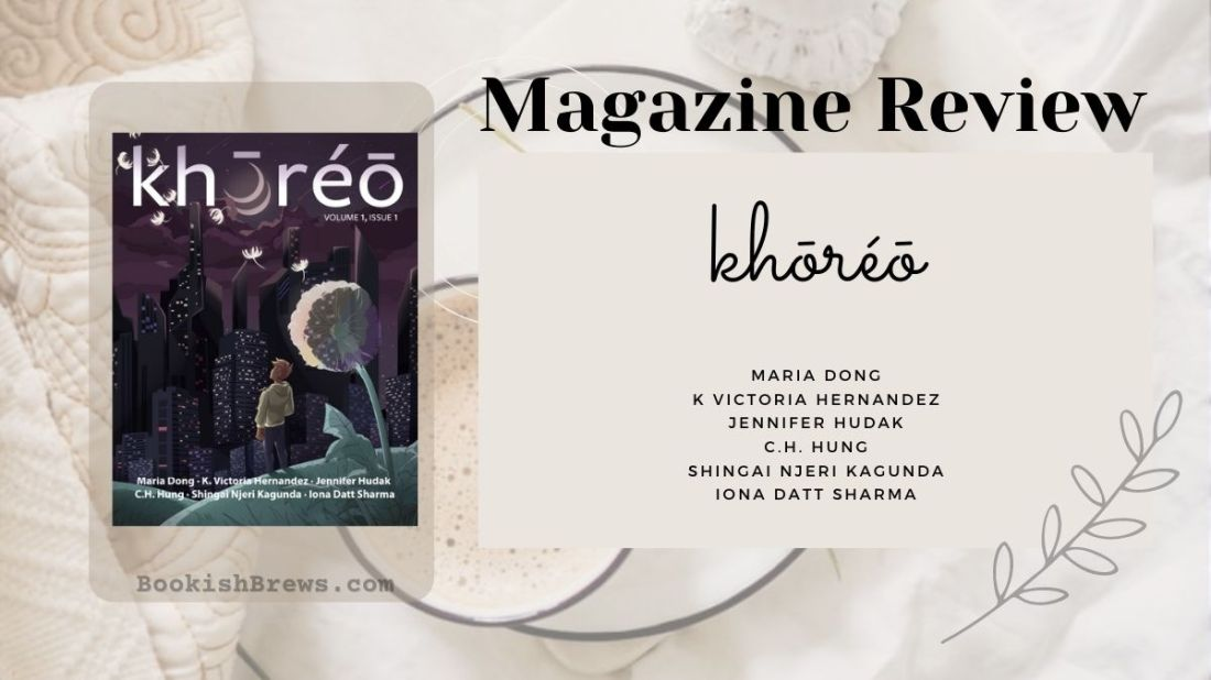 Khoreo Magazine, issue 1, volume 1. short story reviews. a magazine that features voices of the diaspora.