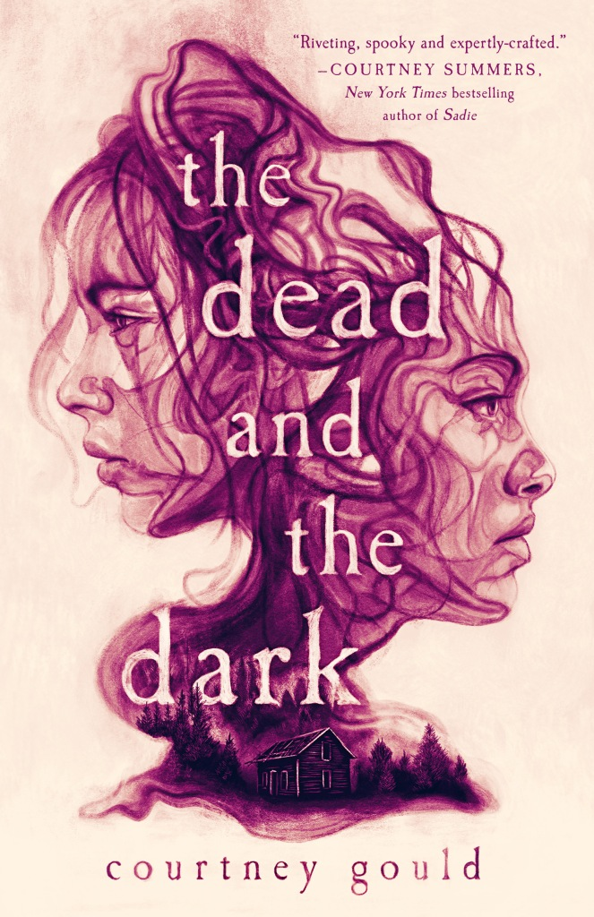 the Dead and the dark by courtney gould book cover and review and aethetic