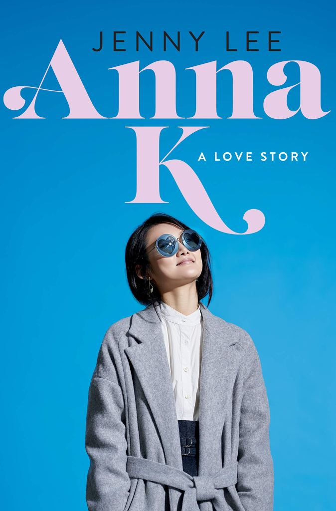 Anna K by Jenny Lee, book cover