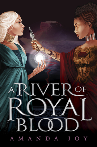 A River of Royal Blood by Amanda Joy book cover - a recommendation for books with magical competitions