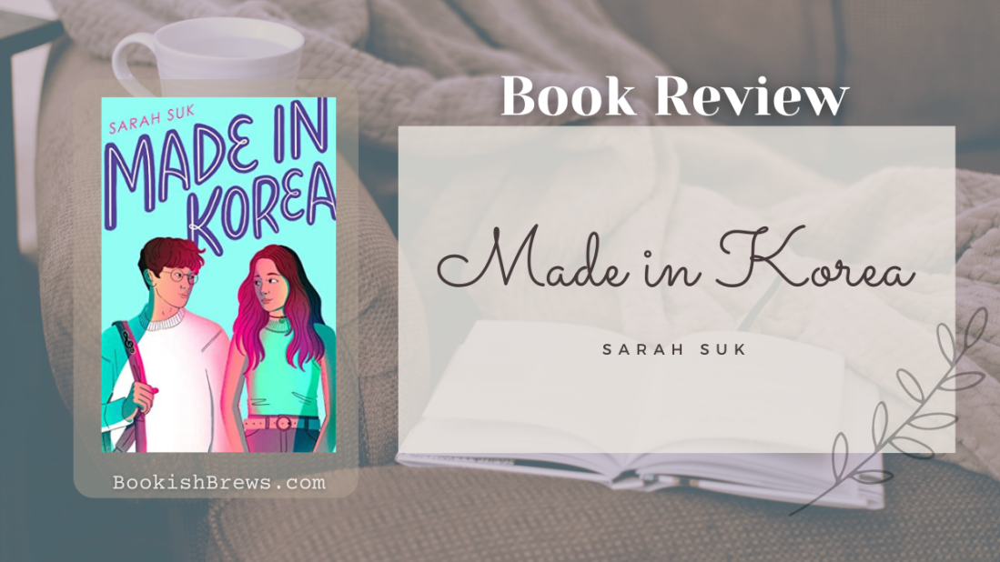 made in korea by sarah suk, book review and book cover