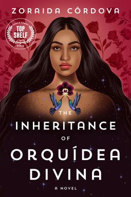 The Inheritance of Orquidea Divina by Zoraida Cordova book cover