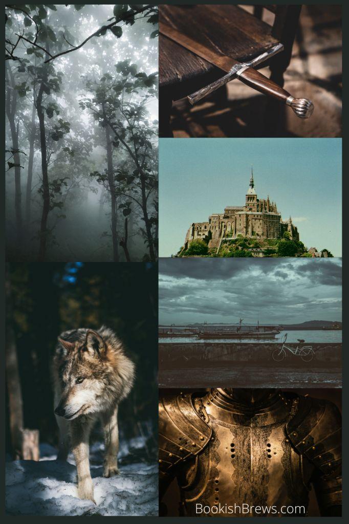 The wolf of Oren Yaro by KS Villoso aesthetic